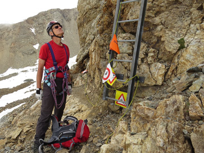 Klettersteig Piz Trovat : Piz trovat